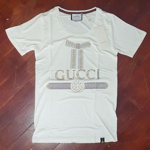 596a08569 Gucci Tees - Short Sleeve Tops for Women | Poshmark